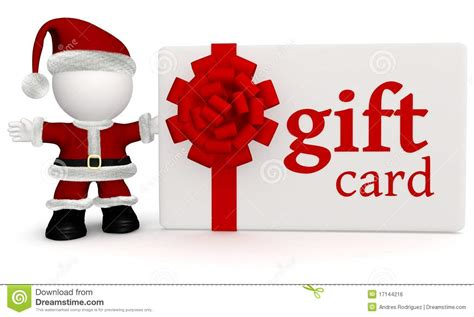 santa with a gift card royalty free stock image image 17144216 - A Gift Card Santa