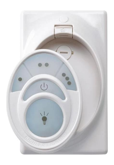 kichler ceiling fans remote control not working kichler other finishes fan remote white 337214 from
