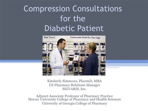 Of New Orleans Mba Program by Compression Consultations For The Diabetic Patient New