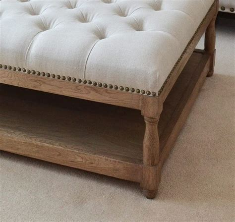upholstered ottoman coffee table best 25 upholstered ottoman ideas on diy