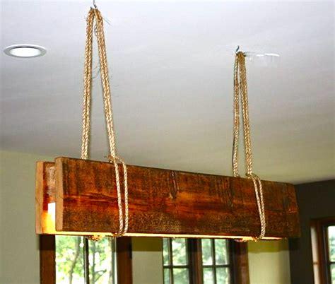 Winter Gardening Spade Spatula Reclaimed Wood Light Fixture