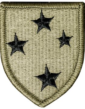 operational camouflage pattern unit patches ocp unit patch 23rd infantry division with fastener