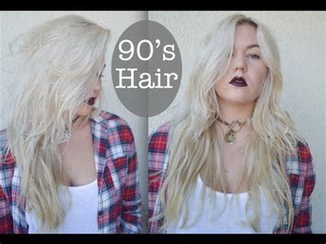 90s theme hair 90s grunge hairstyles