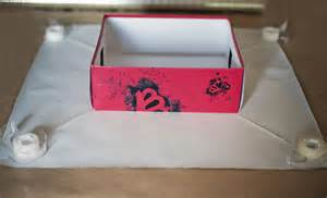 gift wrapping a shoe box a gift decorating idea
