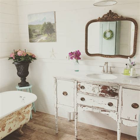 shorely chic vintage style bathroom party vintage inspiration party 196 french country decor