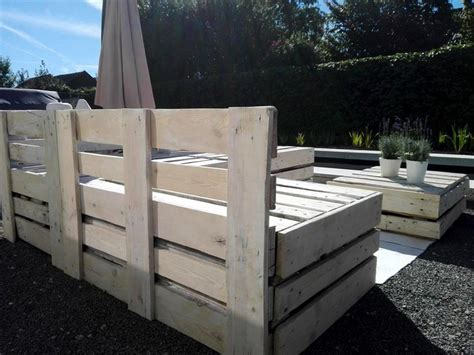 Wood Pallet Outdoor Garden Furniture Pallet Ideas How To Make Pallet Patio Furniture