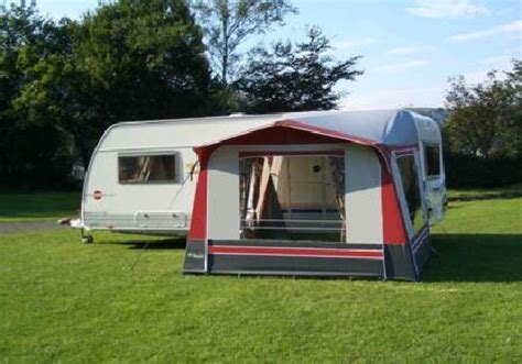 caravan awnings second hand hand caravan awnings for rainwear