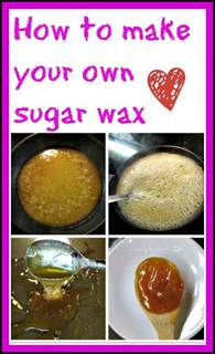 how to make home made how to make your own sugar wax