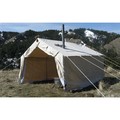 wall tent magnum 174 10 x 12 x 5 h canvas wall tent 143151