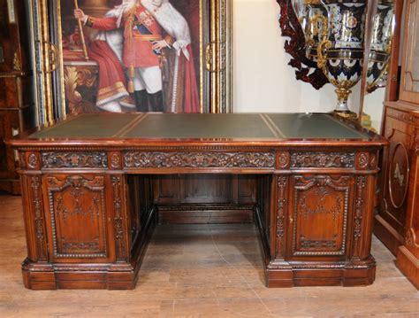 scrivania resolute office furniniture solid mahogany furniture