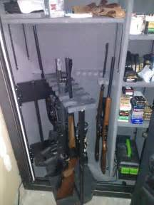 my new gunsafe with swing out rifle rack azbilliards