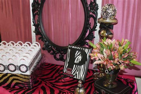 zebra themed bathroom pink zebra theme baby shower party ideas photo 1 of 35