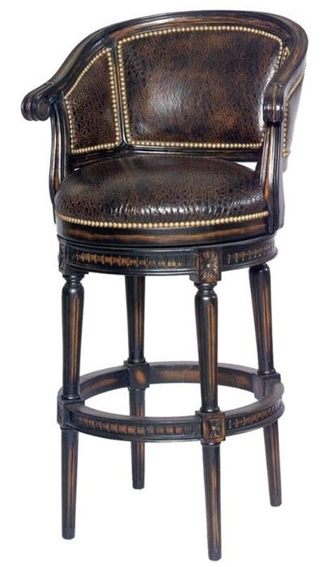 luxury bar stools luxury furniture swivel bar or counter stool
