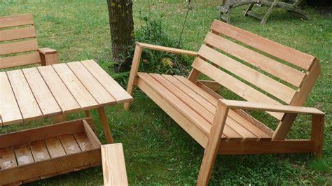 Table De Salon De Jardin En Palette