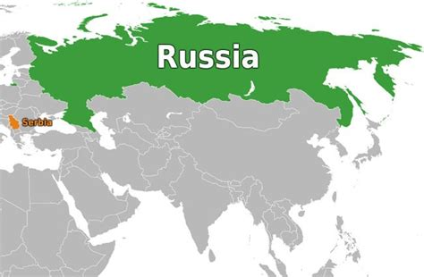 russia serbia map serbia the 51st state of america inserbia news