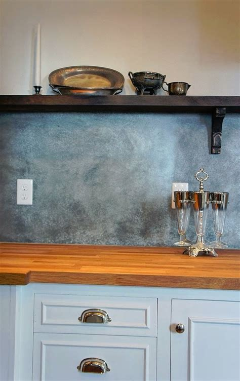 best 25 sheet metal backsplash ideas on
