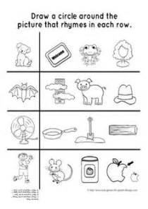 kindergarten activities phonemic awareness rhyming words activity game worksheets rhyming words