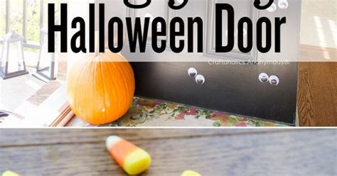 mustache and googly eyes door decor halloween googly eye door makeamazing googly eyes