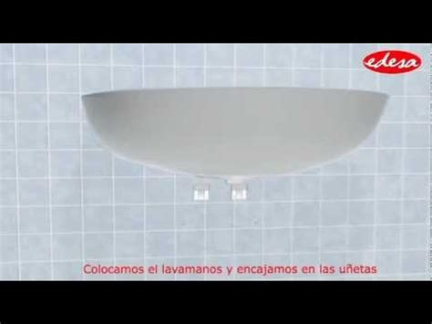 lavamanos con sarro youtube instalaci 243 n lavamanos pompano con pedestal corto youtube