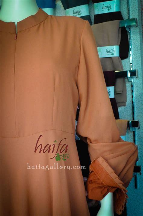 Gamis Arrow detail set gamis jumbo haifa dari bahan sifone crep