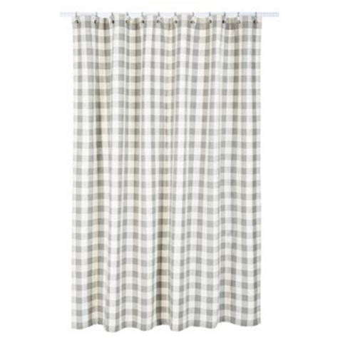 gray buffalo check curtains buffalo check shower curtain gray buffalo check shower