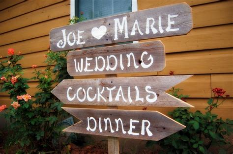 Handmade Sign Ideas - handmade wedding signs from etsy personalized wedding