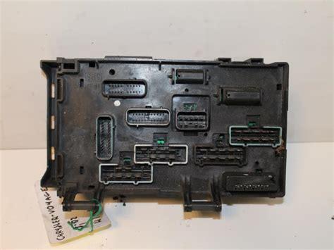 Used Chrysler Voyager Grand Voyager Rg 3 3 V6 Fuse Box