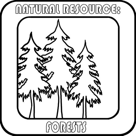 clip art natural resources minerals b w unlabeled abcteach