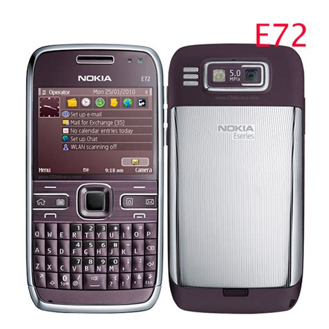 nokia e series mobile e72 100 original nokia e72 mobile phone 3g wifi gps 5mp
