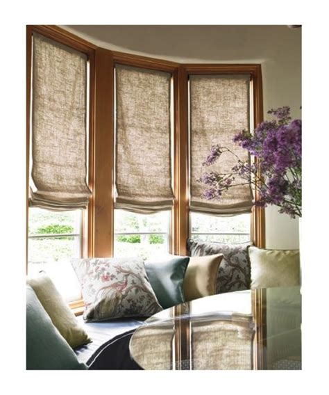 bay window window treatments bay window shades for bay window