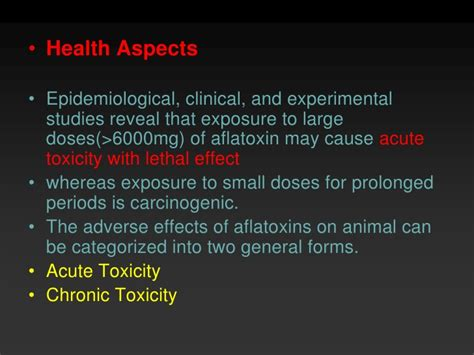 How To Detox Aflotoxins by Aflatoxin
