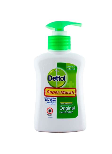 Dettol Original Anti Bakteri Wipes Tisu Basah 10 Lembar dettol wash anti bakteri original btl 110ml klikindomaret