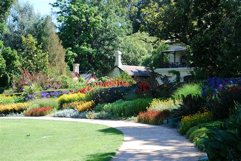 Gardens House Botanic Gardens Melbourne Botanical Garden Melbourne