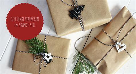weihnachtsgeschenke verpacken weihnachtsgeschenke verpacken ideen mit aquabeads