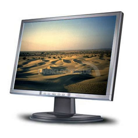 Monitor Lcd Wide belinea 1925s1w 19 quot widescreen lcd monitor black silver