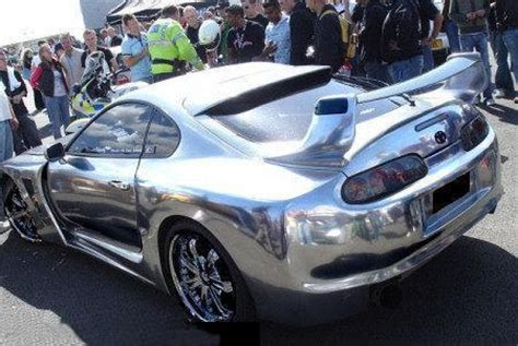 Sprei 3d Cars chrome paint metallic mirror effect finishes at