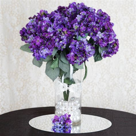 84 silk hydrangea flowers wholesale wedding bouquets centerpieces decor ebay