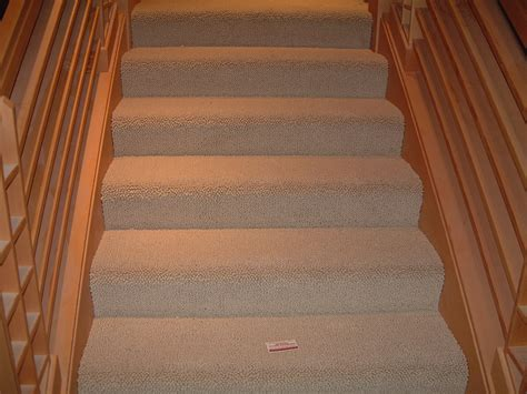 on carpet carpet installation on stairs