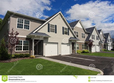 town houses town houses royalty free stock photos image 5251458
