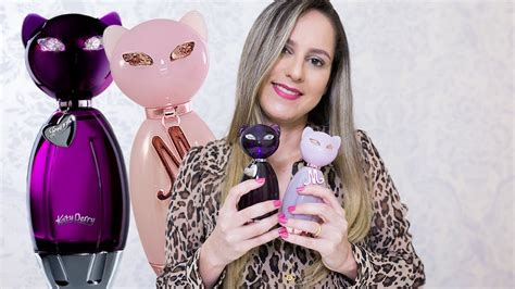 Os Katy Perry Puur perfumes meow e purr katy perry resenha