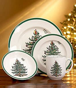 Spode christmas tree dishes make me happy my favorite things