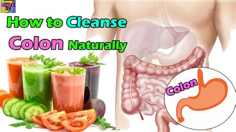 how to cleanse your colon naturally detox digestive