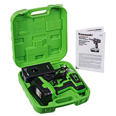 kawasaki 18v heavy duty impact driver kit 841436c ebay