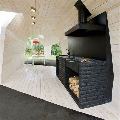 Barbecue Moderno Design by 21st Century Cookout 16 Modern Grills Outdoor Kitchens