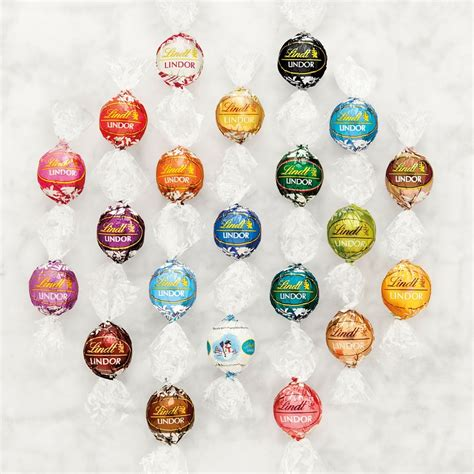 lindor chocolate flavors colors lindtspiration