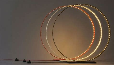 Lu Ring Light hula hoops or circus props non le deun s pi series lighting