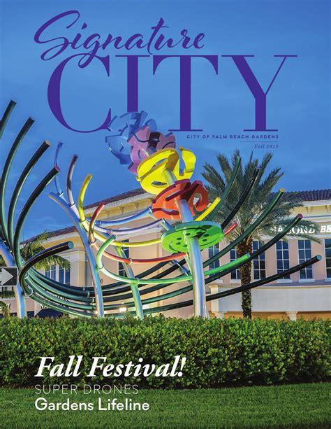 City Of Palm Gardens by Signature City Fall 2015 Palm Gardens Fl By City