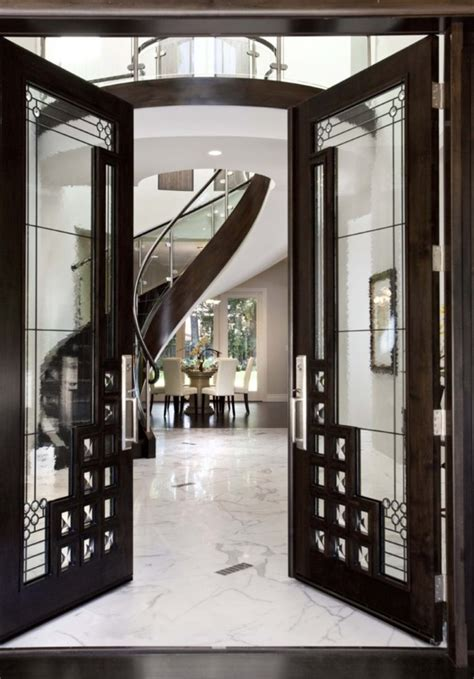Interior Design Door Entrance by Hallway Doors Black Glass And Sliding Exles Founterior