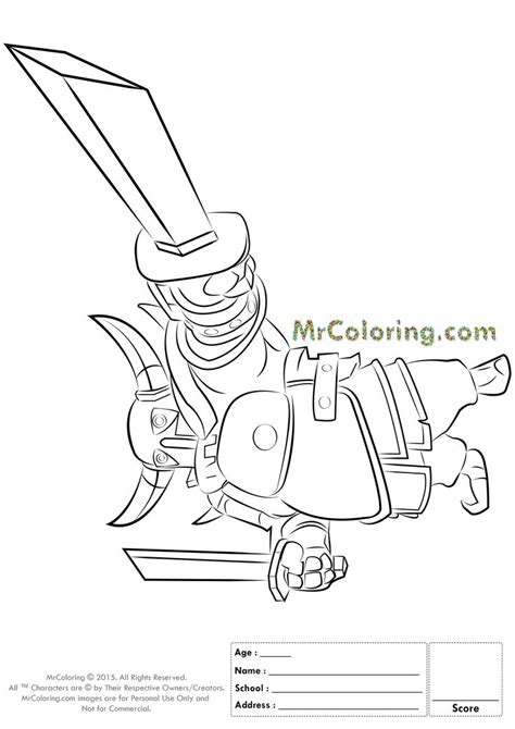 clash of clans dragon coloring page free printable clash of clans pekka knight coloring pages