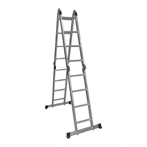jual krisbow tangga lipat aluminium multifungsi   mtr